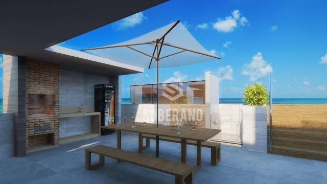 Apartamento com 1 dormitório à venda, 39 m² por R$ 240.000 - Intermares - Cabedelo/PB - Foto 6