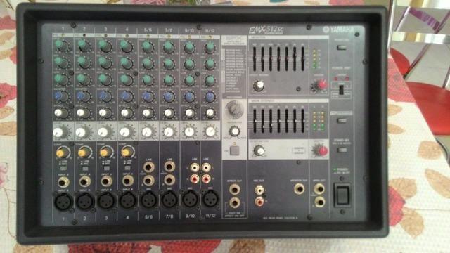 Mixer profissional yamaha emx 512 sc - Foto 5