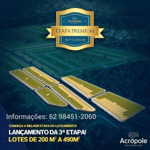 Residêncial Acrópole Loteamento em Goiânia - Foto 4
