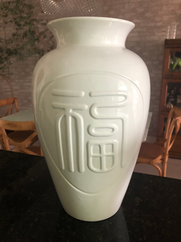 Vaso em Porcelena Chinesa