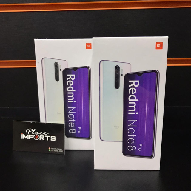 Note 8 pro 64Gb, loja física e entregamos em toda Bh e região