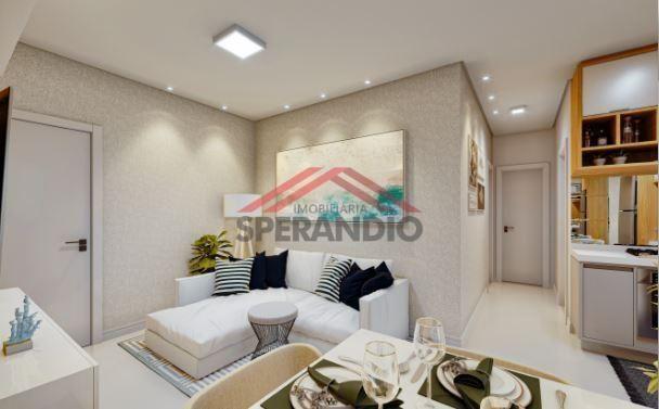 Lançamento! Apartamentos c/ 01 suíte + 01 quarto na Av. das Margaridas - Lot. São José - Foto 4