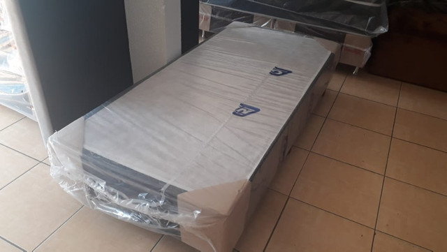 Base box solteiro 0,88 x 1,88 - Foto 2