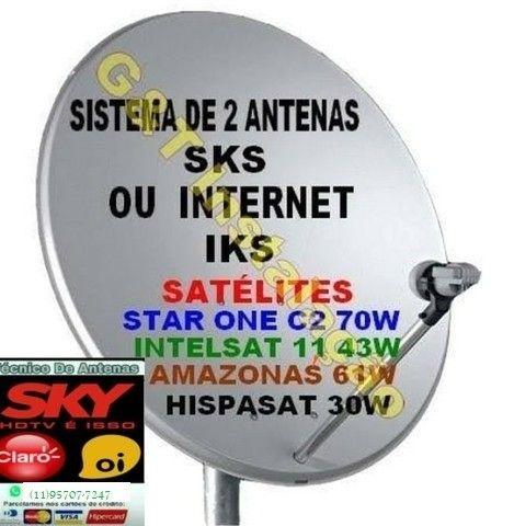 Antenista Receptor Eletricista Instalador CFTV - Foto 3