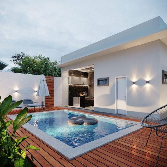 Linda casa térrea no Parque Dallas (Ao lado do Vilas Boas) Com piscina e 3 suites! - Foto 4