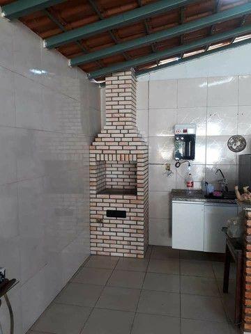 Churrasqueira, forno e fogão a lenha construídos no tijolinho maciço aparente. - Foto 5