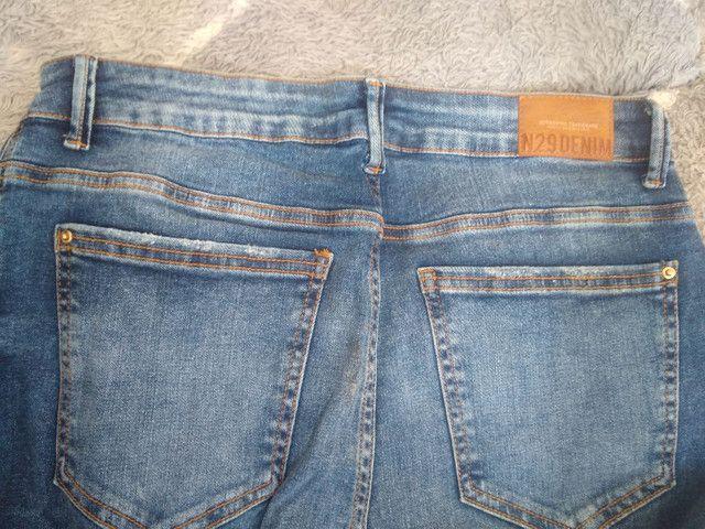 Calça jeans usada ótimo estado - Foto 3
