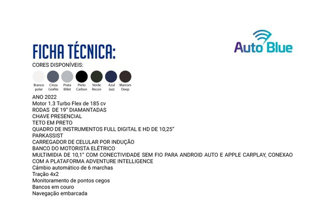 COMPASS 2021/2022 1.3 T270 TURBO FLEX LIMITED AT6 - Foto 2