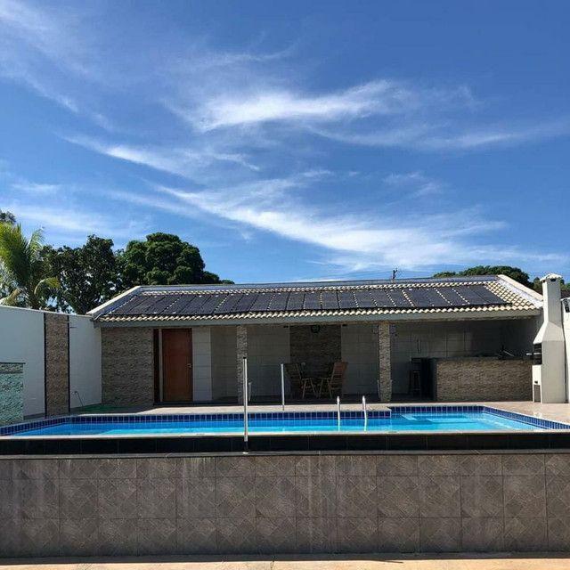 Aquecedor coletor solar para piscina - Foto 6