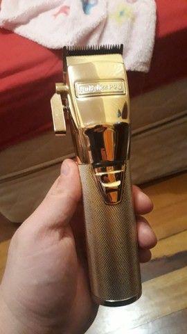 Máquina de cortar cabelo Babyliss Pró Gold