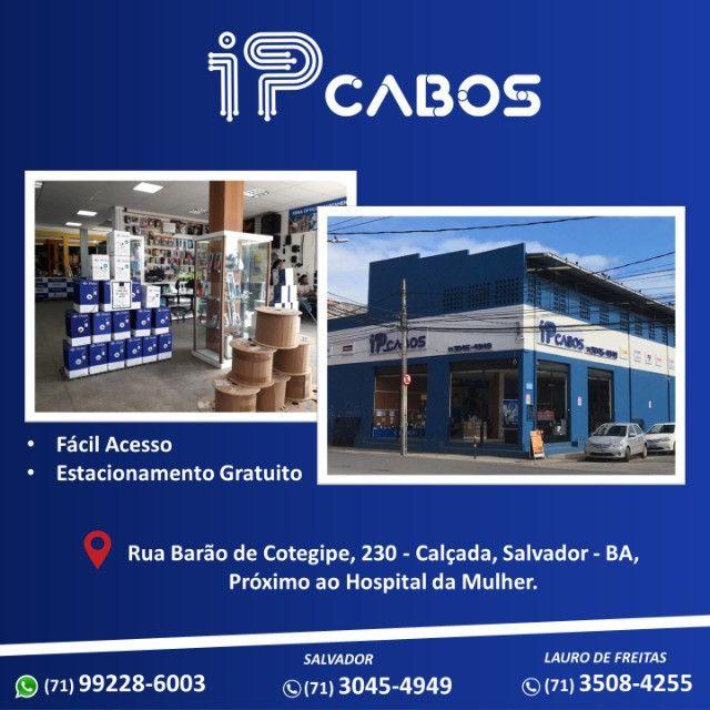 Cabo UTP lan 4 pares CAT.6 cm - Foto 3