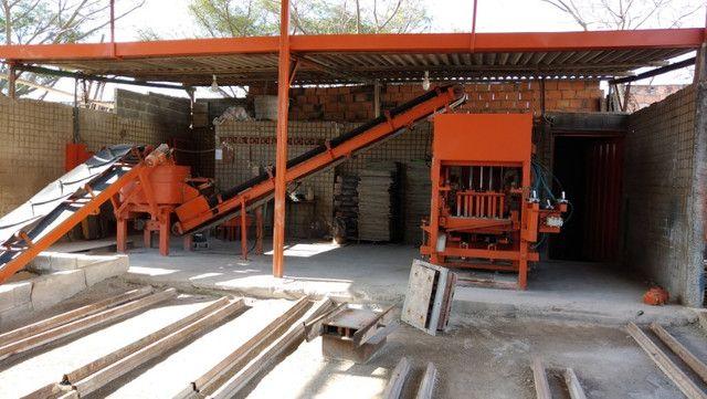 Máquina de Bloco e Compressor 15 hp - Foto 3