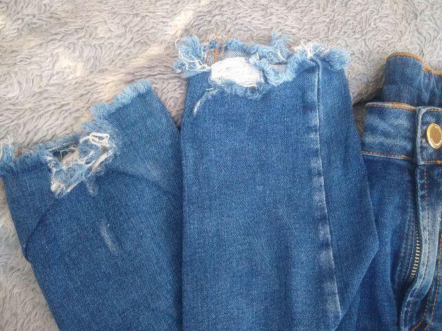 Calça jeans usada ótimo estado - Foto 4
