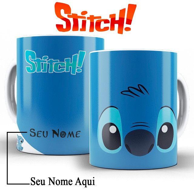 Ohana Caneca Stitch Personalizada Com o Nome da Pessoa Amada - Foto 3
