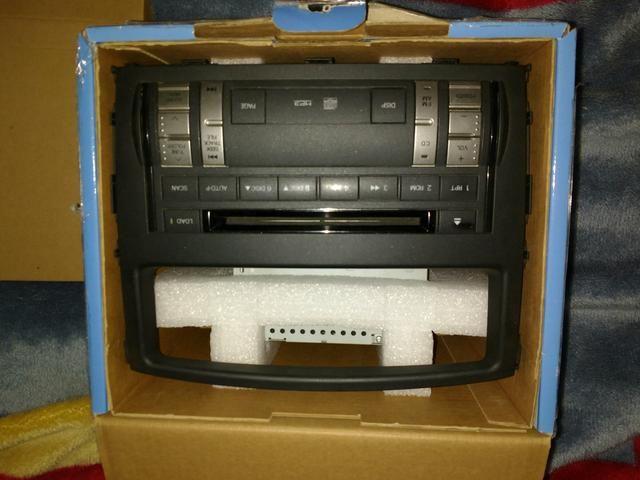Rádio CD Mitsubishi Pajero Full
