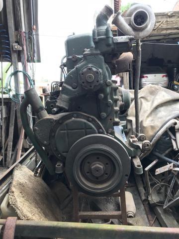 Motor de Mercedes 1518 + Caixa de Marcha