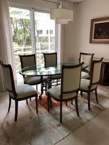 Mesa de Jantar com 6 cadeiras - Linda ! Bem conservados cee56400803