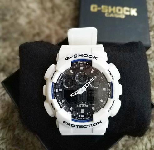 e856904a374 Relógio G Shock Casio Branco Novo Promoção - Bijouterias