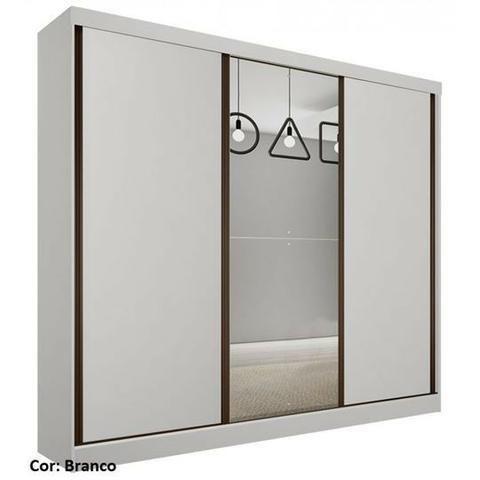 4d55402f544fe Guarda Roupa Casal com Espelho 3 Portas 6 Gavetas pagamento na entrega  970089112