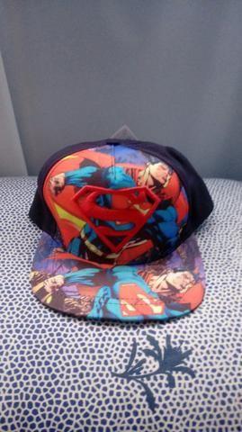 3e6872bb33d56 Bonés Infantis Super Homem e The Flash Novos 50