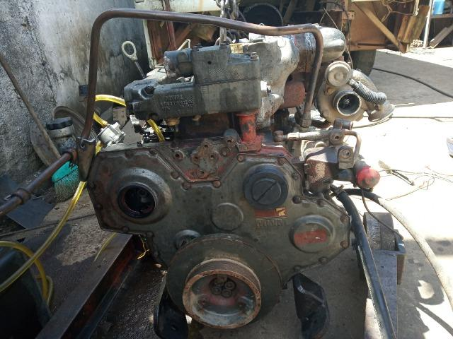Bloco Limpo do Motor 04 Cil Mwm Série X10 F1000 F4000 - Foto 4