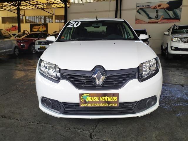 Renault Sandero 1.0 Expression 8mil km 2020 (2mil entrada 60x 999) - Foto 7