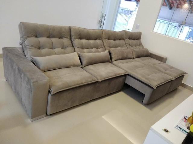 Sofá retrátil e reclinável sob medida - Foto 6