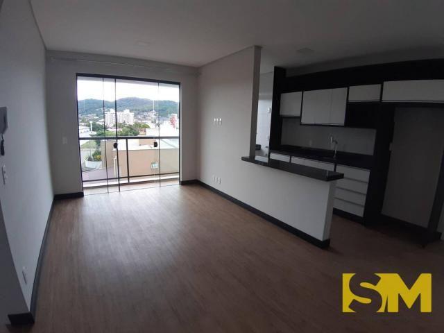 Apartamento com 2 dormitórios para alugar, 72 m² por R$ 1.700/mês - Bom Retiro - Joinville - Foto 4