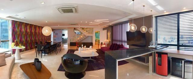 Vendo Cobertura TOP na avenida Boa Viagem com 4 suites - Foto 7