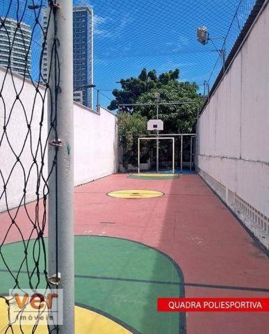 Apartamento à venda, 90 m² por R$ 349.000,00 - Cocó - Fortaleza/CE - Foto 7