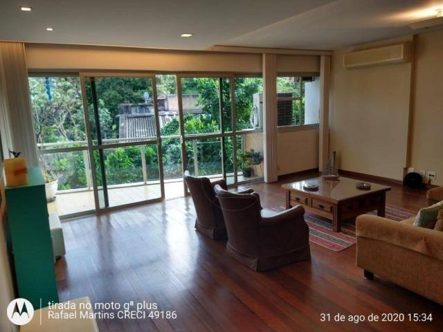 Apartamento com 4 dormitórios à venda, 190 m² por R$ 1.700.000,00 - Cosme Velho - Rio de J - Foto 2