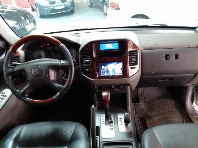 Pajero 3.5 4X4 completa diesel automatica - Foto 8