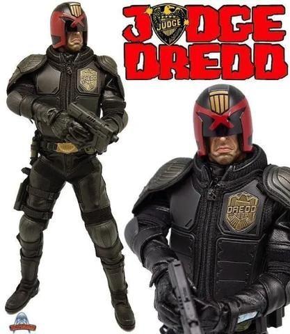 Boneco Judge Dredd Heavy Armored Special Cop - Artfigures