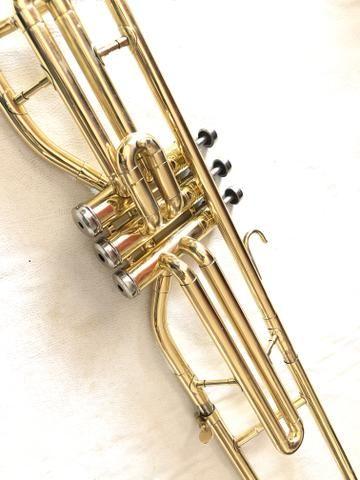 Trombone Weril em dó filé lindo. - Foto 5
