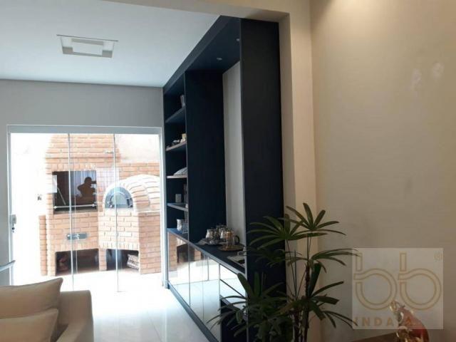 Casa com 4 dormitórios à venda, 183 m² por R$ 800.000 - Jardim Park Real - Indaiatuba/SP - Foto 9