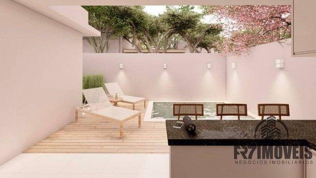 Bela Casa Parque das Flores  3Qs 1S com Área Goumert e Piscina aquecida - Foto 17