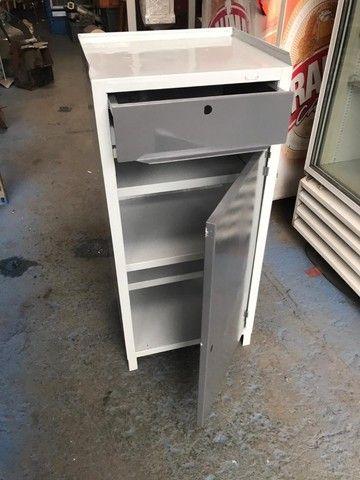 bancada ferramenteira com gaveta e armário em baixo   - Foto 4