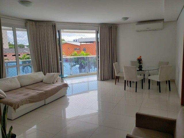 (Condomínio Bellagio) apartamento c/ 3 suítes + 147m², mobiliado - Foto 3