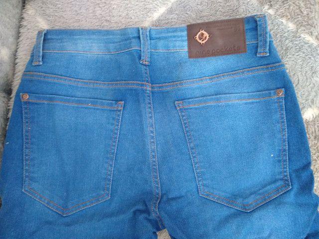 Calça jeans usada em excelente estado - Foto 3