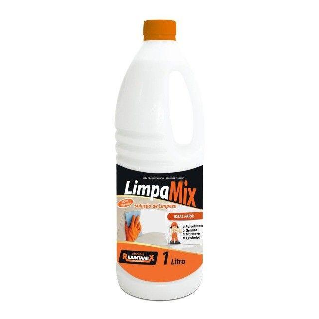 Limpamix 1 Litro Solução Limpadora - Rejuntamix