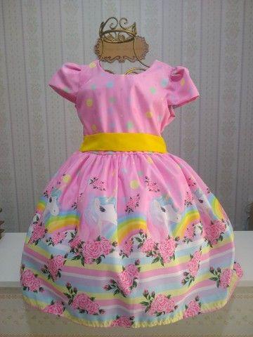 Vestido temático infantil  - Foto 6