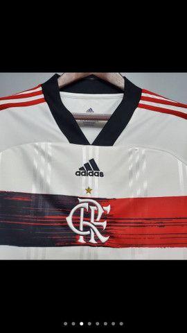 Camisa Flamengo 2020 tamanho G - Foto 3