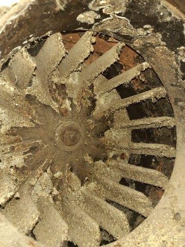 Sistema de exaustão e lavagem atmosféricas em inox com turbina acoplada.  - Foto 5