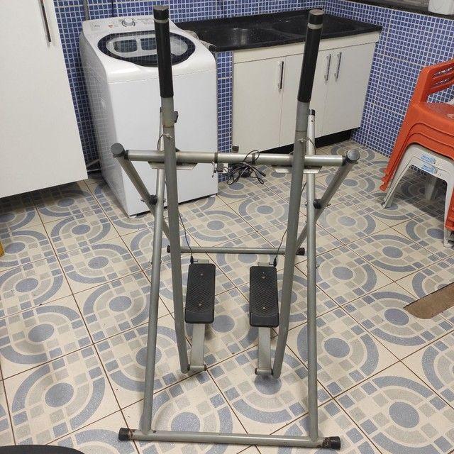 Simulador de caminhada e peso 5kg