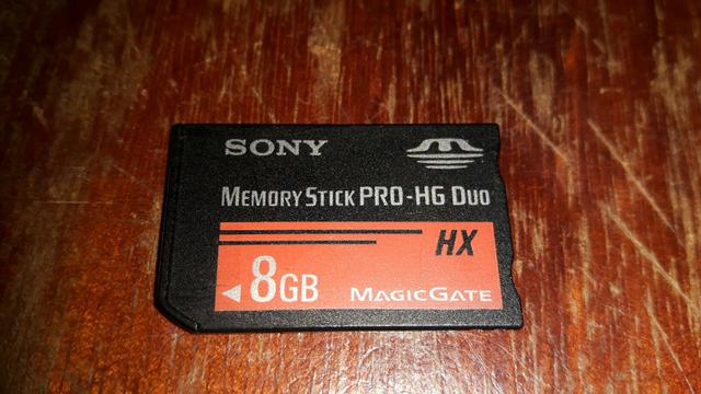 Cartao de memoria sony 8Gb