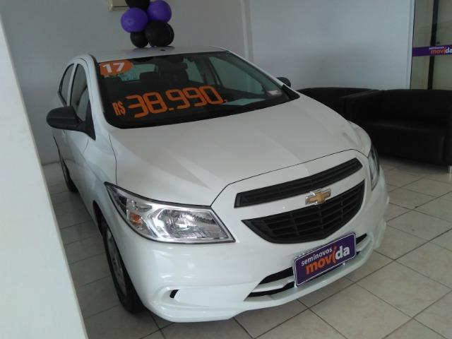 Gm - Chevrolet Onix joy 1.0 branco 8 v