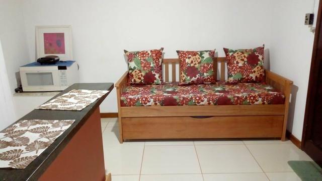 Suite Pontal Itacaré, quarto e sala mobiliado para temporada - Foto 8