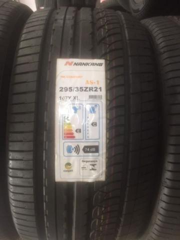 Pneu 295/35 R21 Nankang aro 21 AS1 Porsche Mercedes BMW LandRover Rangerover Sport