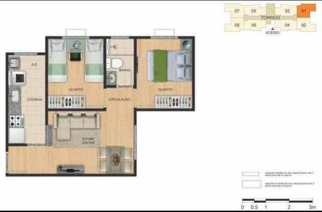 Apartamento Chapada das Oliveiras - MRV - Foto 11