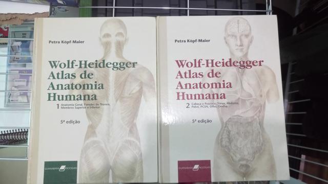 da911993f Atlas de anatomia wolf (2 volumes) - Livros e revistas - Aterrado ...